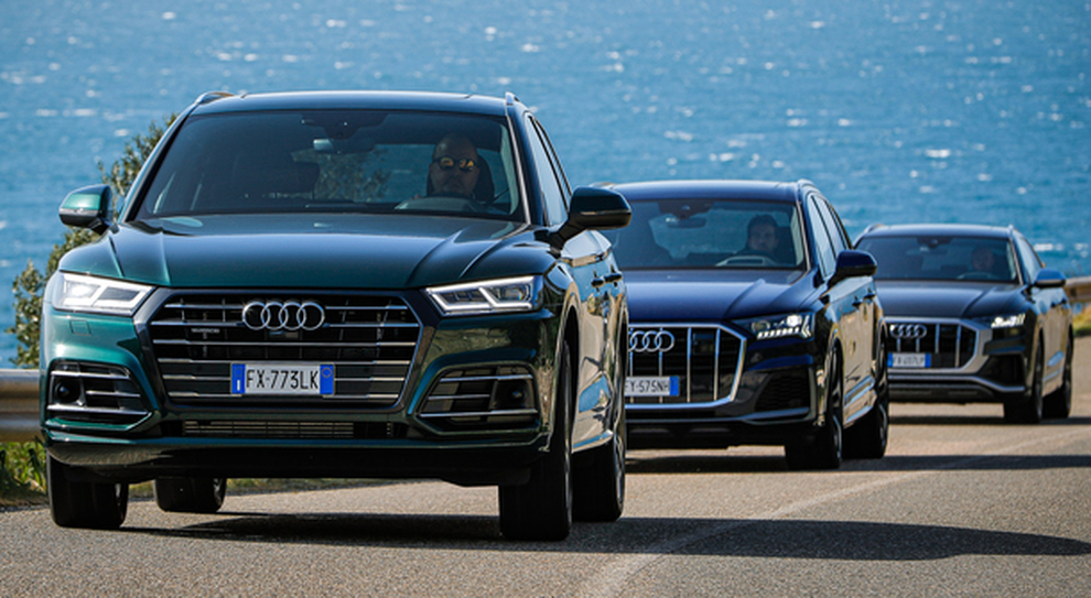 La gamma Q di Audi in Sardegna