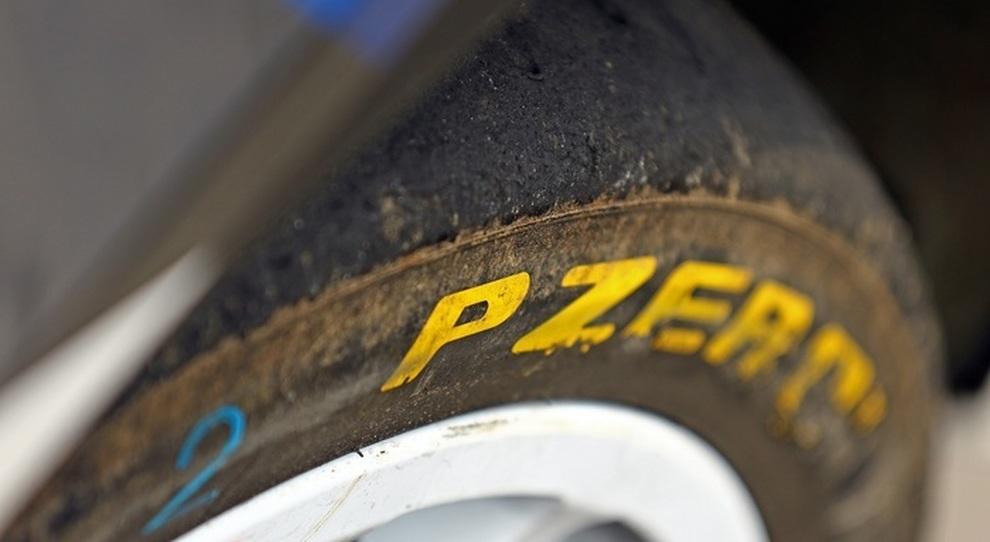 Un pneumatico Pirelli PZero