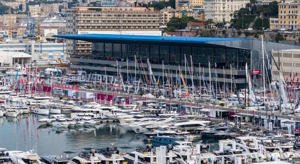 Un'immagine del salone di Genova 2018