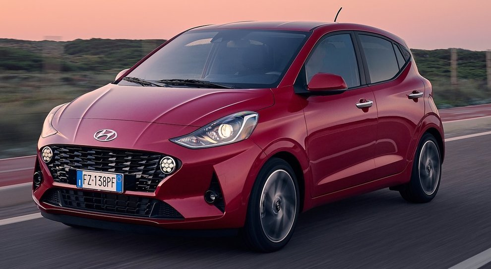 La nuova Hyundai i10