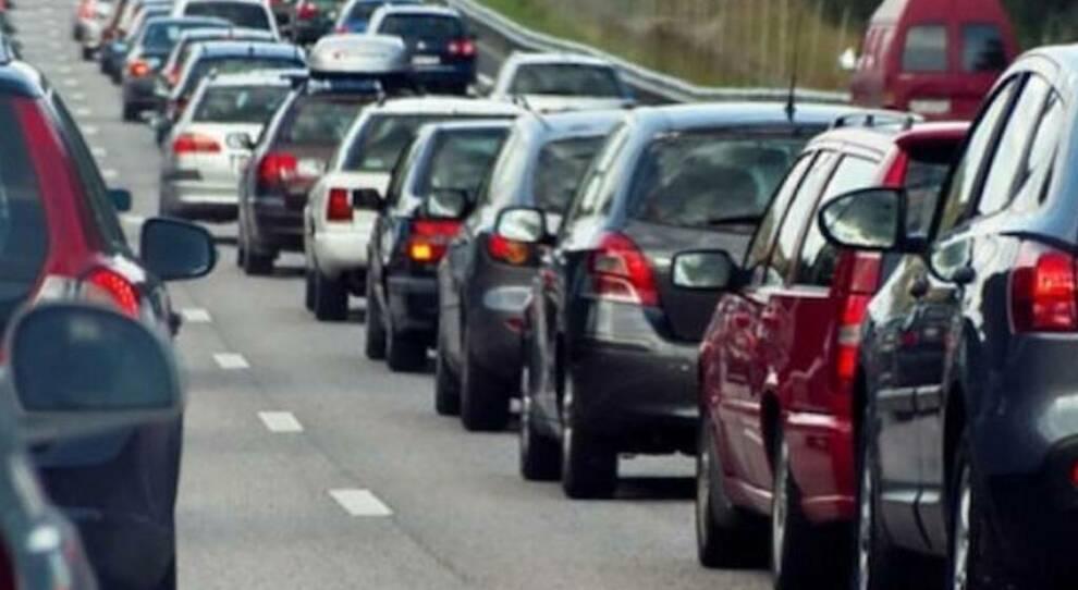 fila in autostrada