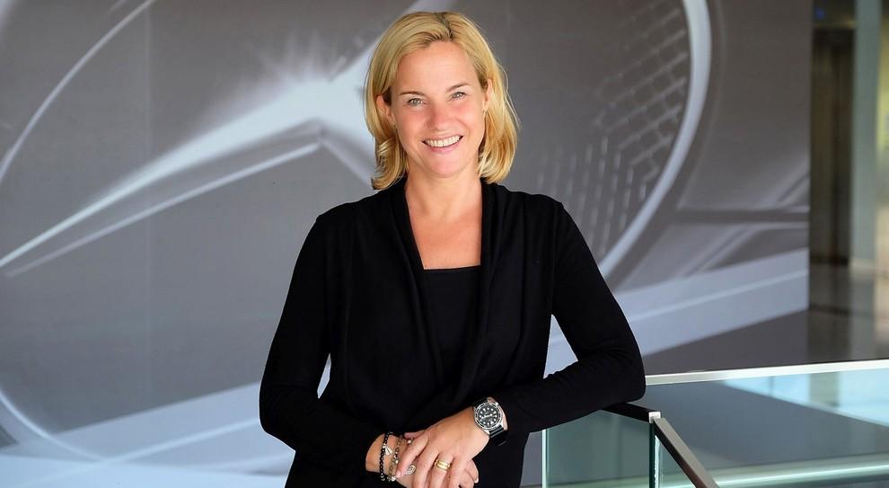 Britta Seeger,  a capo delle vendite della divisione Mercedes-Benz Cars