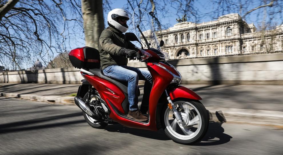 La versione 2020 dell'Honda Sh