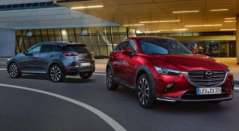 La nuova Mazda CX-3