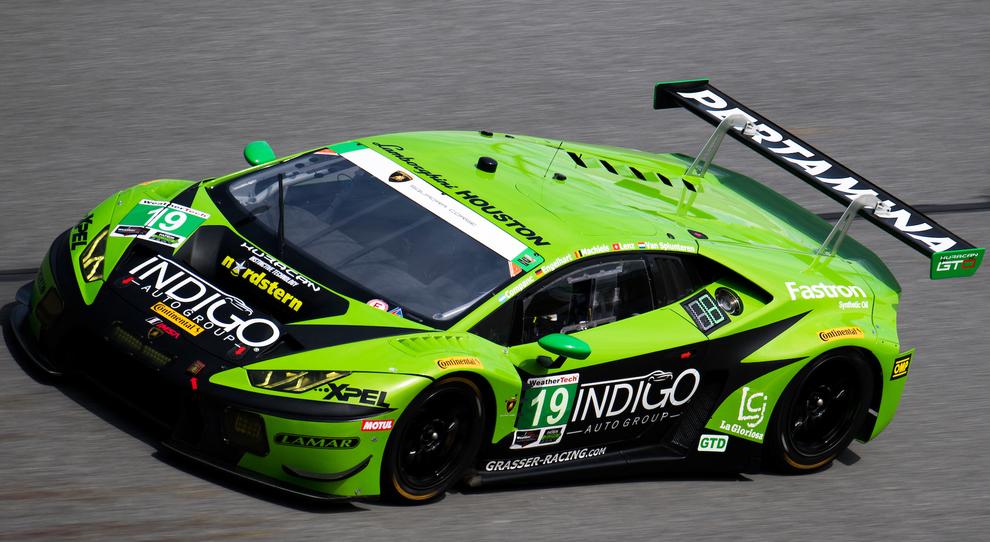 La Huracan GT3  vincitrice alla 24 Ore di Daytona