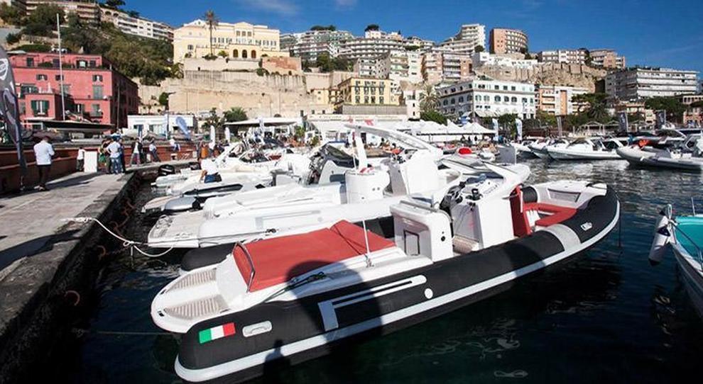 Un'immagine della scorsa edizione di Navigare nel porticciolo del Circolo Posillipo a Napoli
