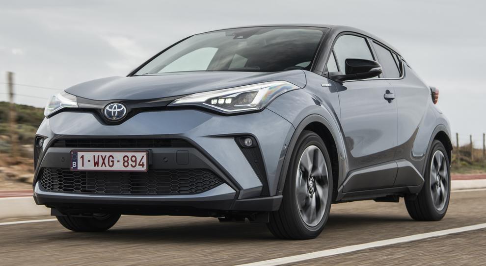 La nuova Toyota C-HR
