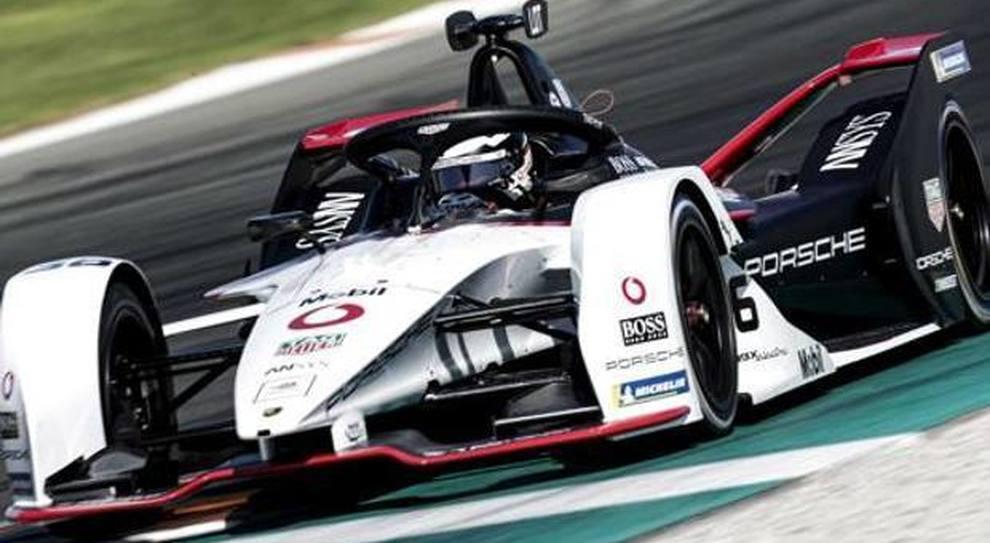 Andre Lotterer con la Porsche FE