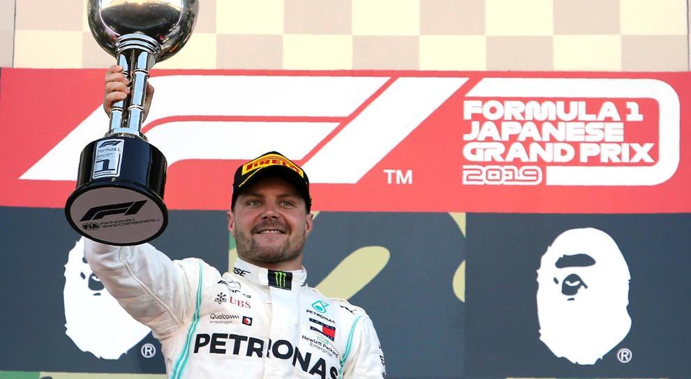 Live F1, GP Giappone in diretta: vince Bottas, secondo un grande Vettel su Hamilton