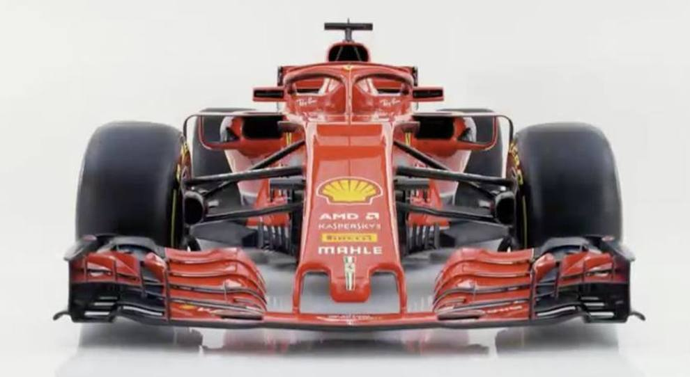 La nuova Ferrari SF71H
