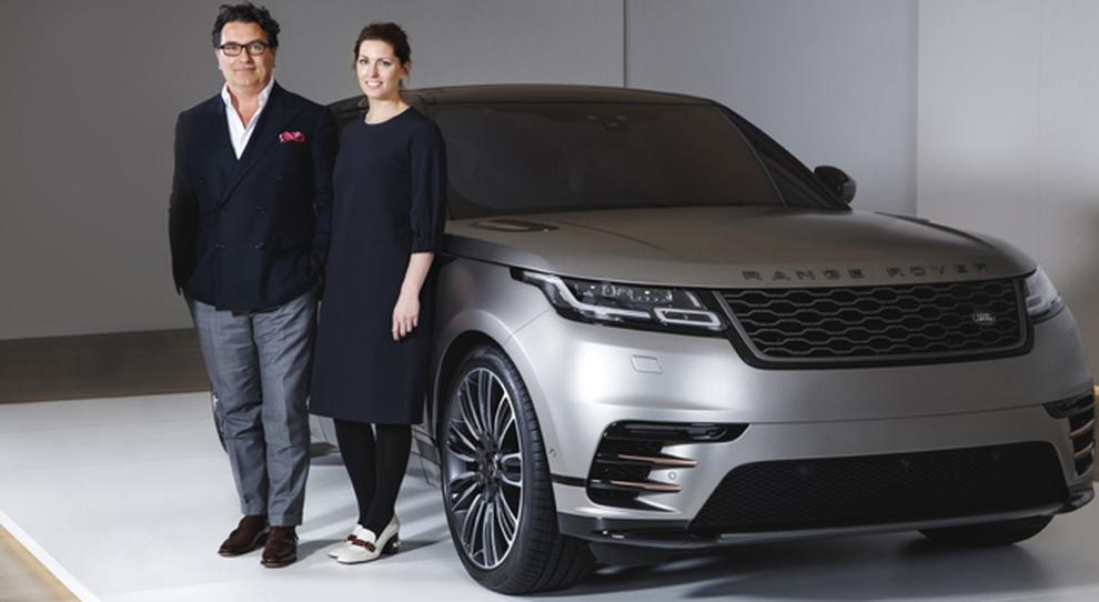 Amy e Massimo Frascella, designer della Range Rover velar