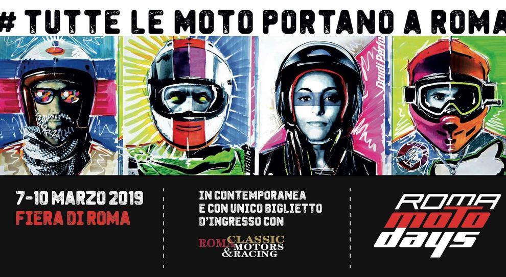 Roma Motodays 2019, dal 7 al 10 marzo tutto sulle due ruote alla Fiera di Roma