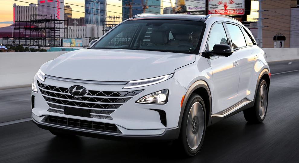Nexo, il nuovo Suv ad idrogeno di Hyundai