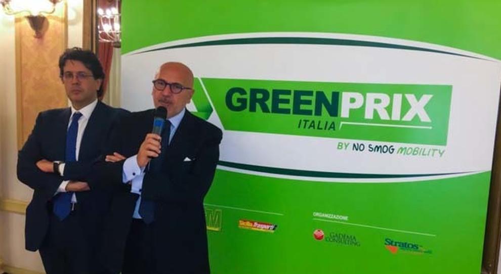 Gaspare Borsellino e Dario Pennica idatori di No Smog Mobility