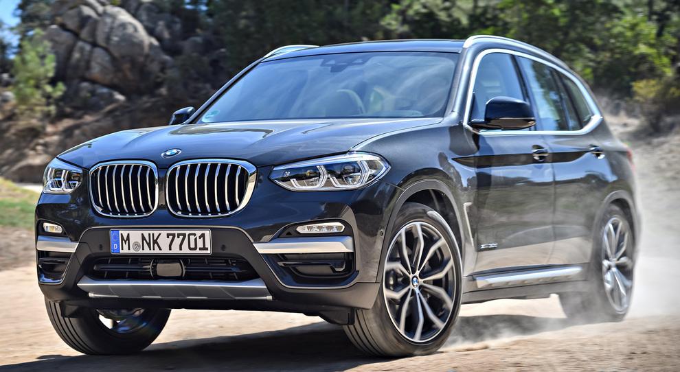 La nuova BMW X3