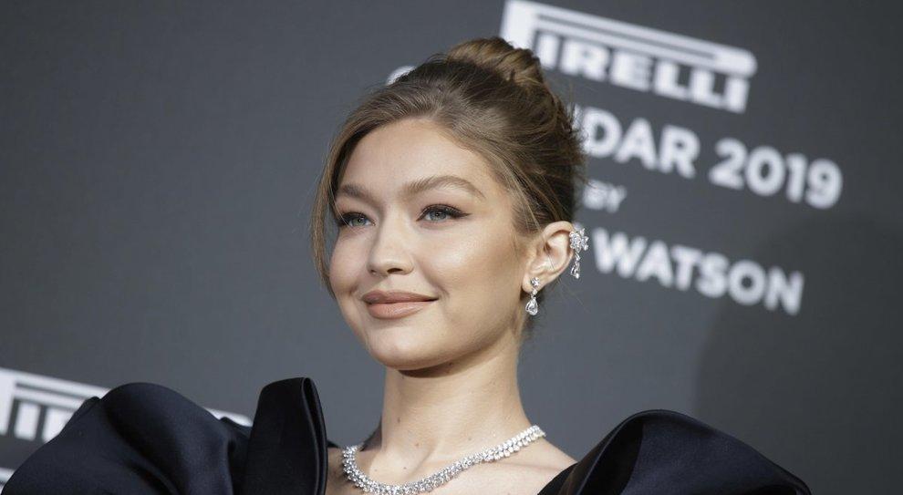 Gigi Hadid,  la super top model di questi ultimi anni è una delle protagoniste del calendario Pirelli 2019