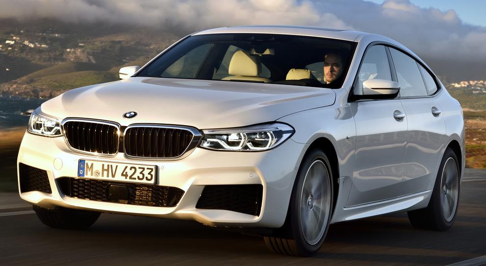 La nuova BMW 6 GT