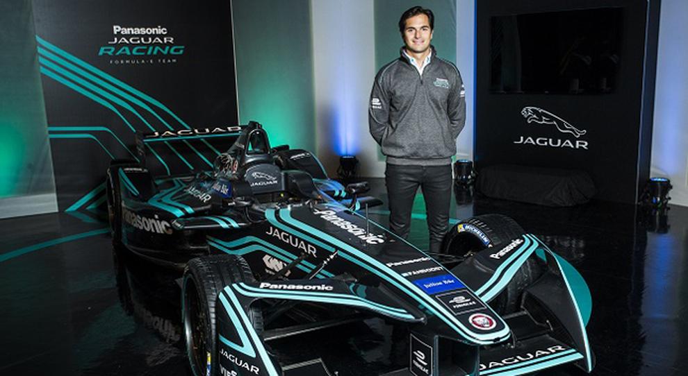 Nelson Piquet jr neo pilota della Jaguar di Formula E
