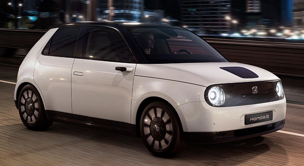 La debuttante Honda E