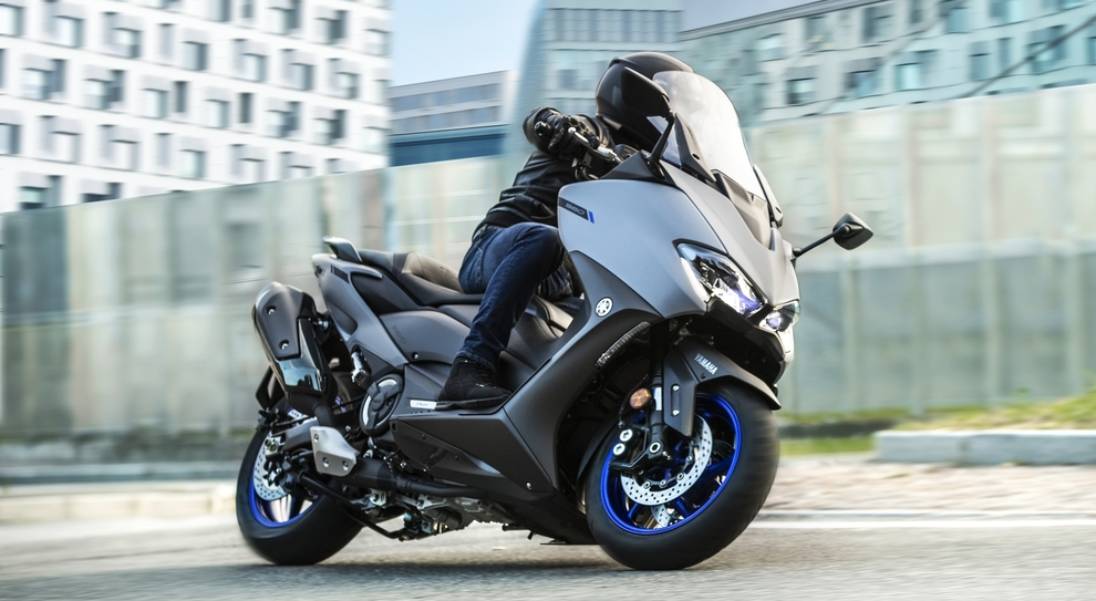 Il nuovo Yamaha TMax