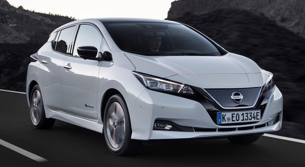 La seconda generazione della Nissan Leaf