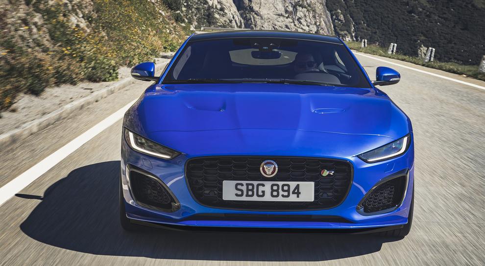 La nuova Jaguar F-Type
