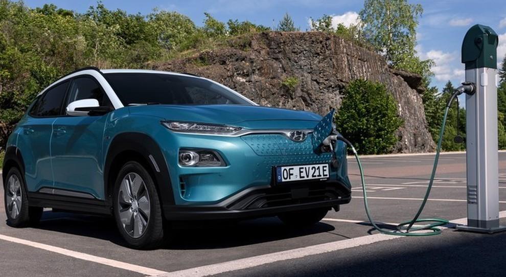 La Hyundai Kona elettrica