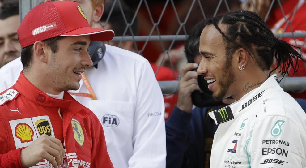 Hamilton: «Gara fantastica, mai mollato»