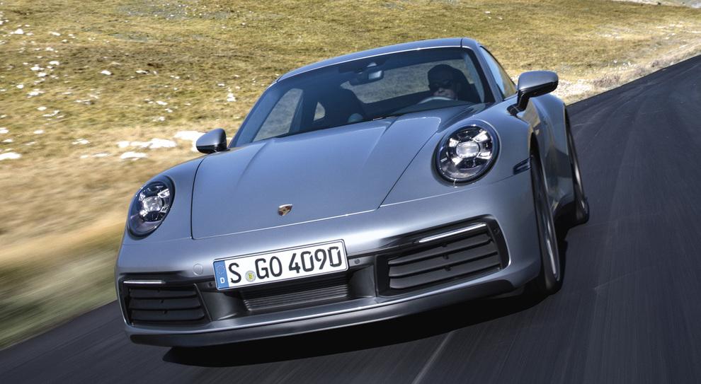 La nuova Porsche 911 giunta all'ottava generazione