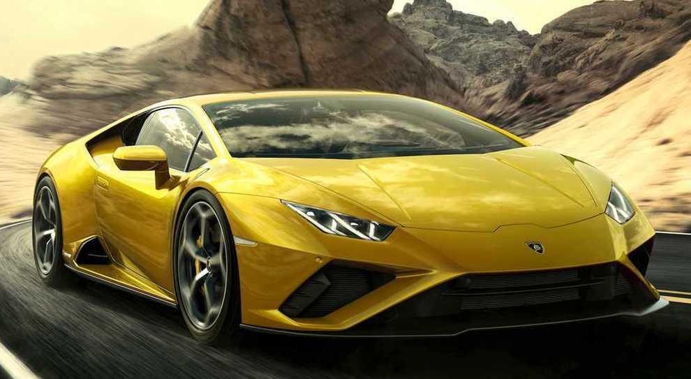 La Lamborghini Huracán EVO RWD
