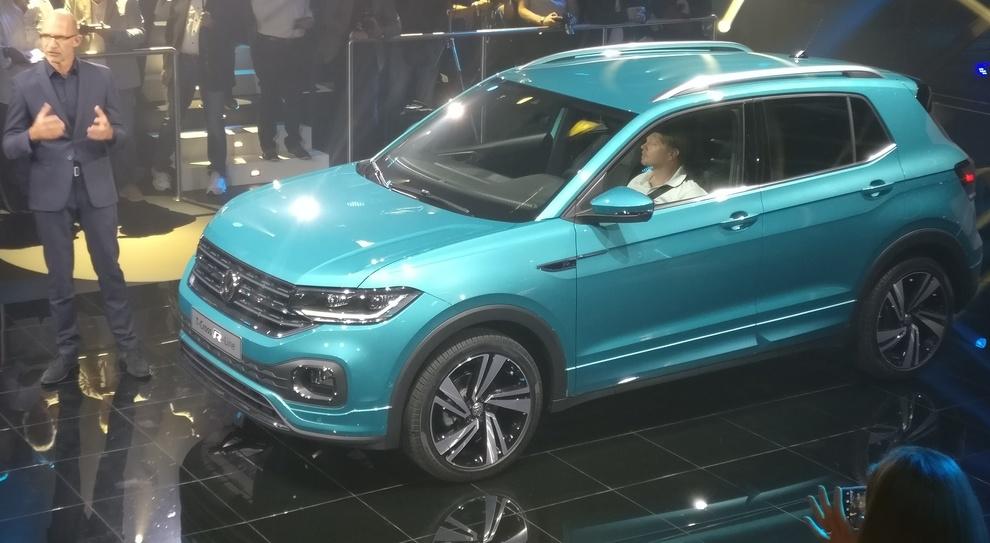La debuttante Volkswagen T-Cross