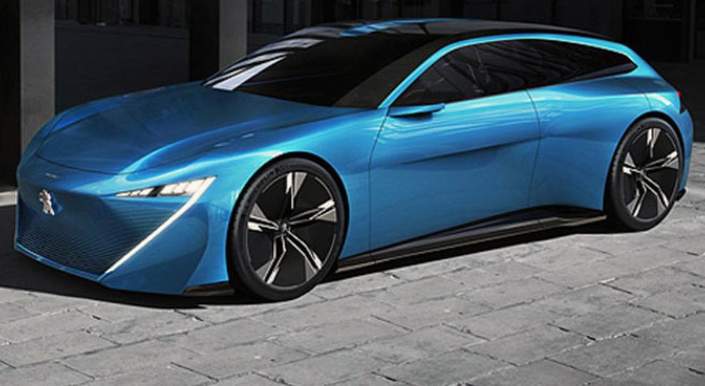 La Peugeot Instinct Concept
