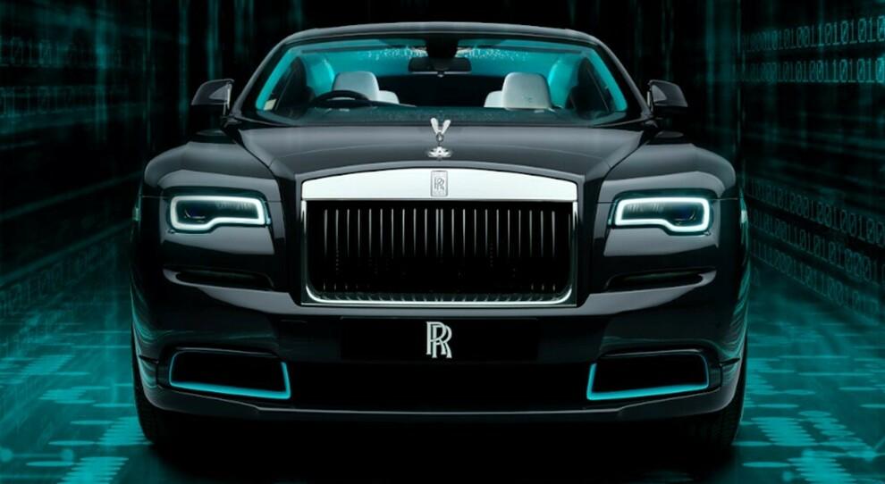 Lo showroom di Rolls-Royce Motor Cars Roma