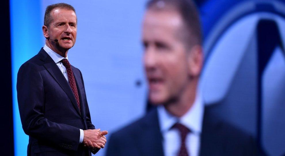 Hebert Diess, ceo della marca Volkswagen