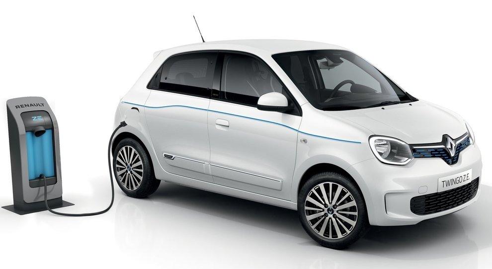 La Renault Twingo ZE