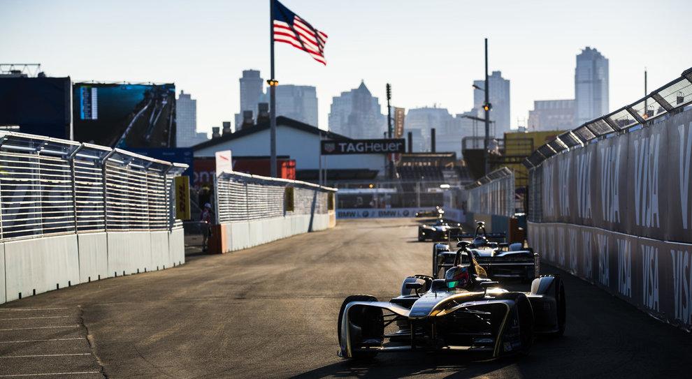 Un'immagine della scorsa edizione dell'e-Prix di New York