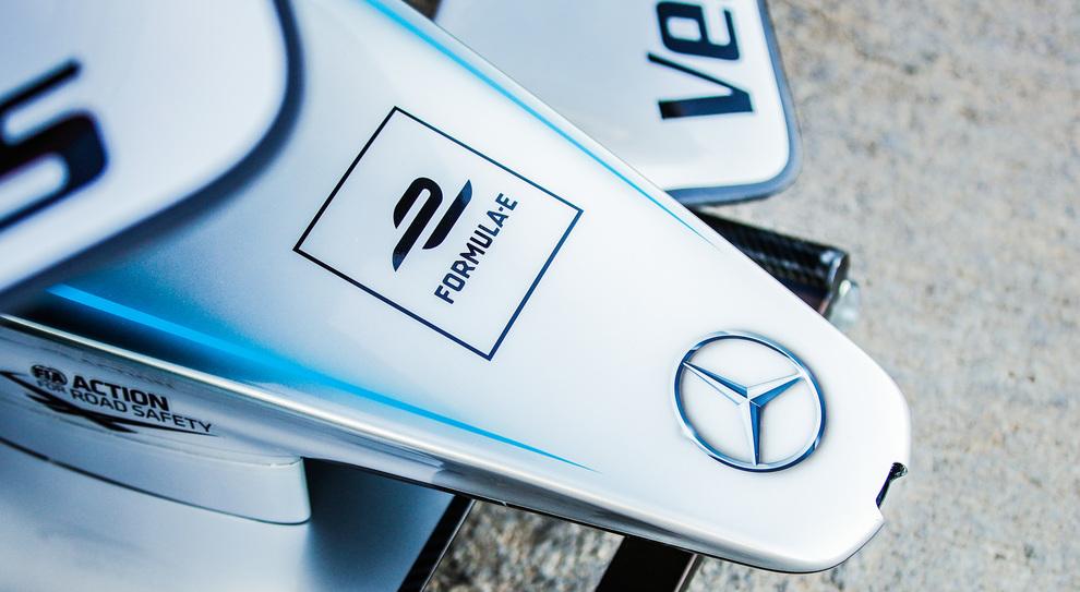 Un dettaglio della Mercedes FE