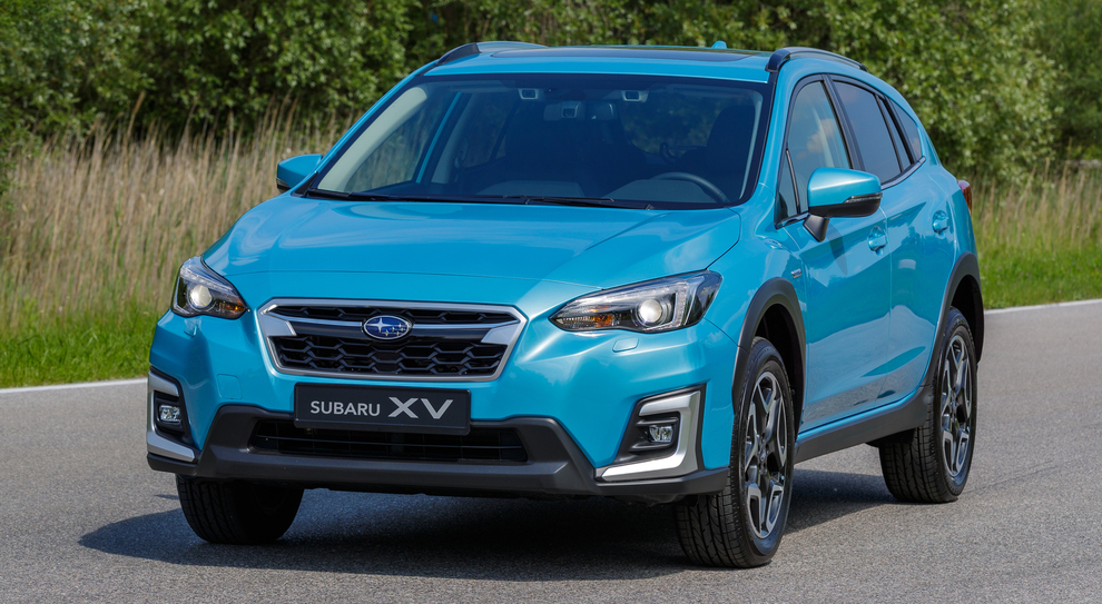La Subaru Xv e-Boxer