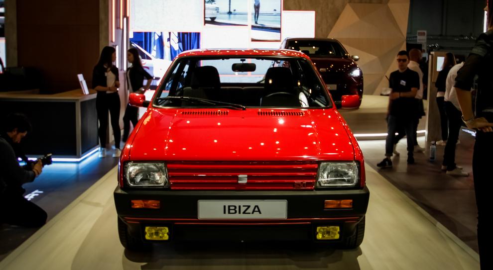 La Seat Ibiza esposta a Padova