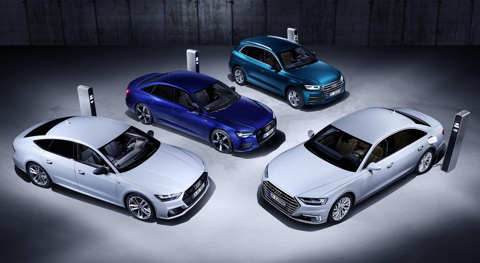 La gamma Audi Phev