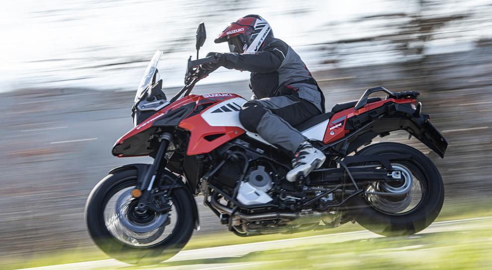 La nuova Suzuki V-Strom 1050XT