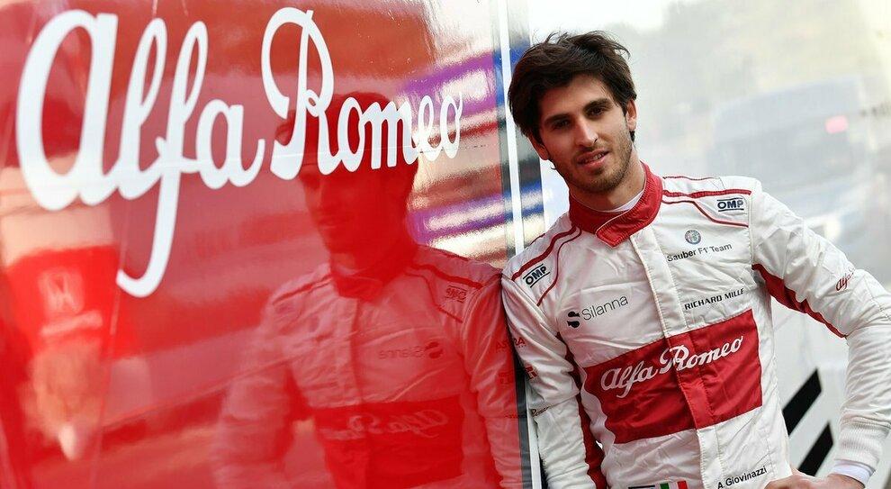 Antonio Giovinazzi, pilota Alfa Romeo F1
