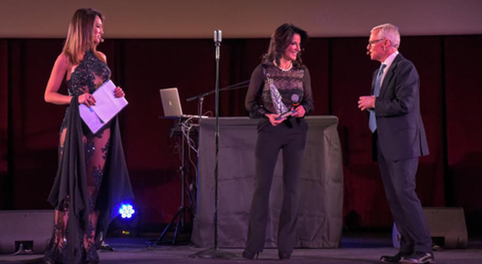 Da sinistra Claudia Mercurio con Anna Laura di Luggo di Fiart Mare e Fabrizio Kuhne