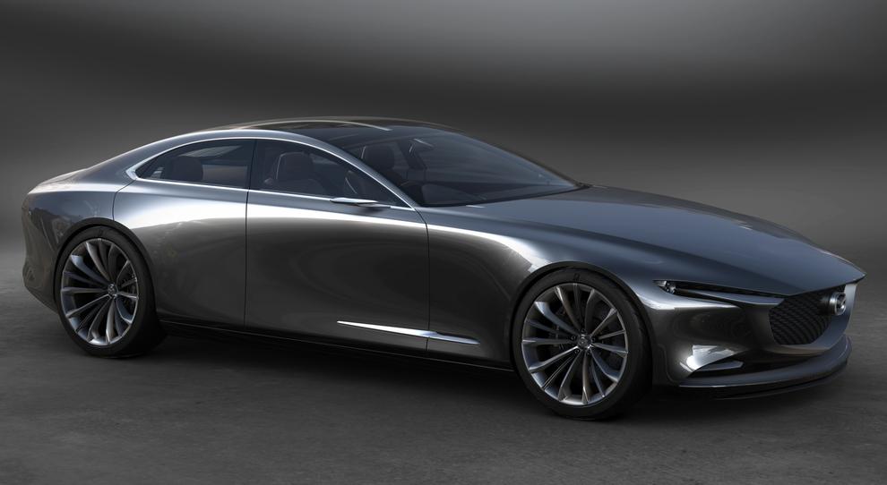 Lo stile del Kodo Design di Mazda si esprime al massimo livello nella Vision Coupè concept