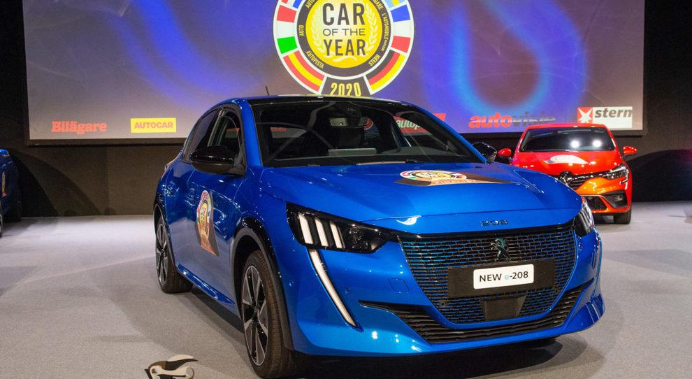 La Peugeot 208 eletta Car of the Year 2020