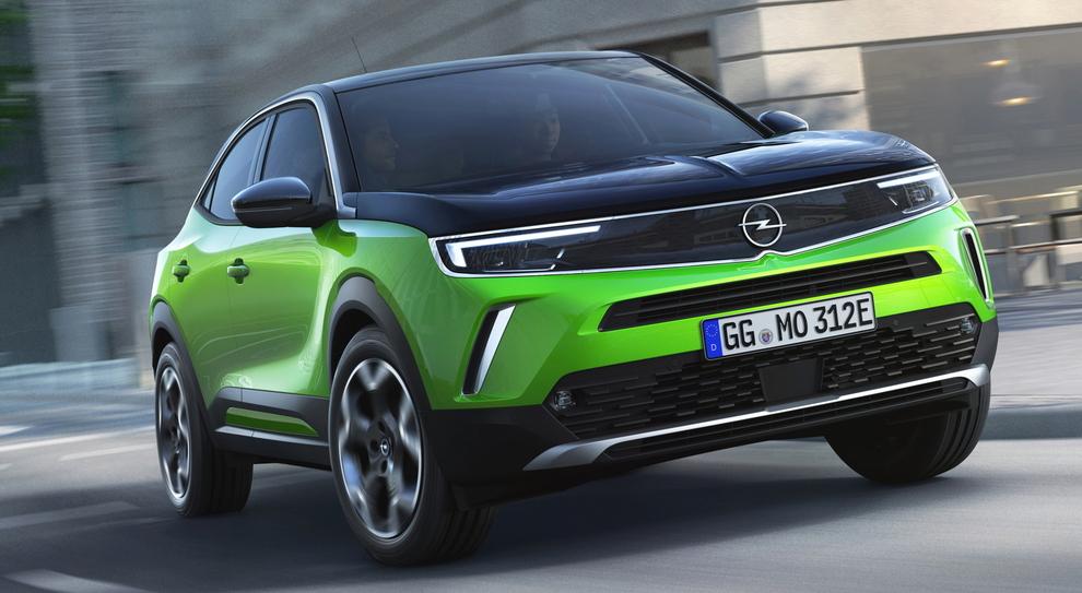La nuova Opel Mokka in versione elettrica