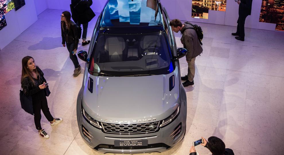 La nuova Land Rover Evoque