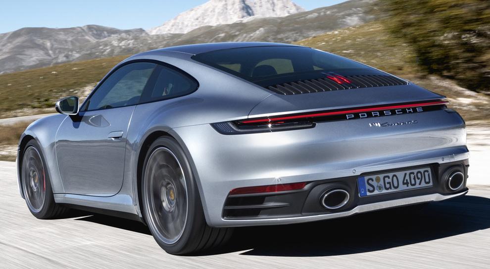 L'ottava generazione della Porsche 911