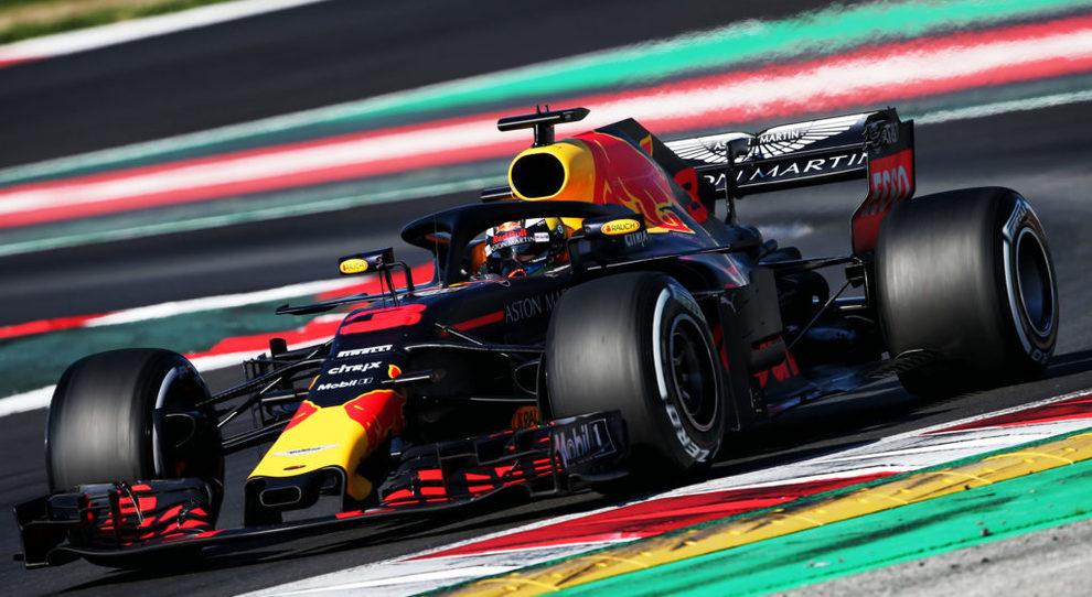 La Red Bull F1