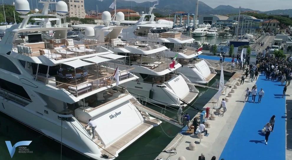 L'edizione scorsa del Viareggio Yachting Rendez-Vous
